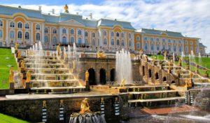 Grand Cascade in Peterhof Palace, Saint Peresburg, Russia